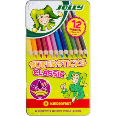 JOLLY Classic színes ceruza 12/klt fémdobozban