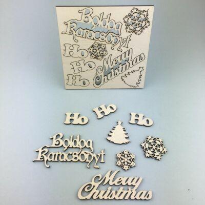 Feliratok Falapon – Boldog Karácsonyt