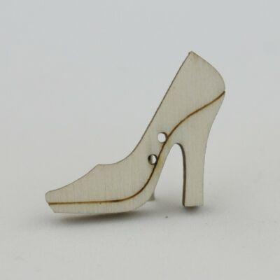 Fafigura Gomb – Cipő