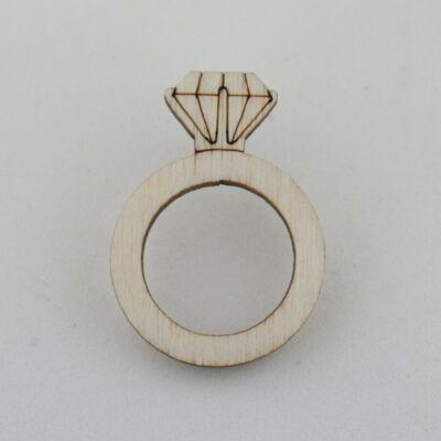 Fafigura Gomb – Gyűrű
