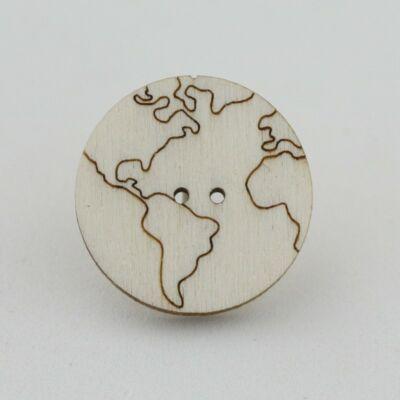 Fafigura Gomb – Földgömb