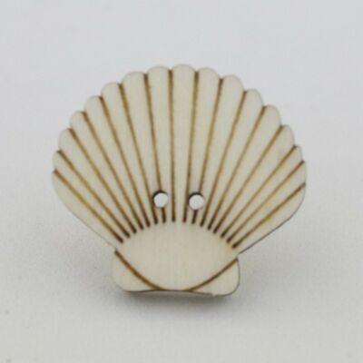 Fafigura Gomb – Kagyló