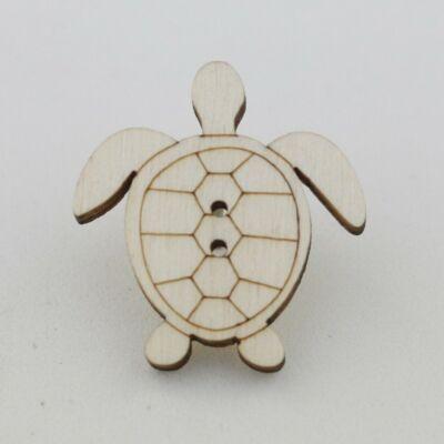 Fafigura Gomb – Teknős