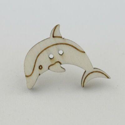 Fafigura Gomb – Delfin