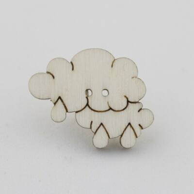 Fafigura Gomb – Esőfelhő