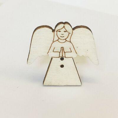 Fafigura Gomb – Angyal