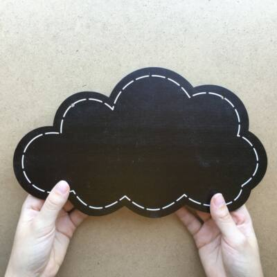 Krétatábla Felhő