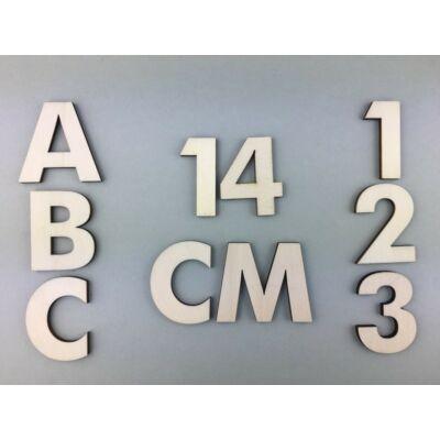 OB1 14 cm natúr betűk, számok