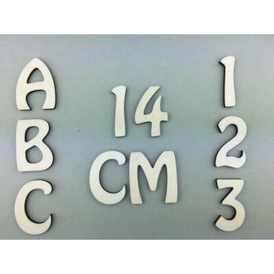 OB3 14 cm natúr betűk, számok