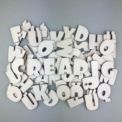 OB5 4,5 cm magas natúr betűk, számok