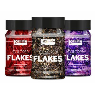 Színes fólia pelyhek, Colored Flakes